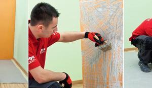 ШАГ I - Подготовка стены